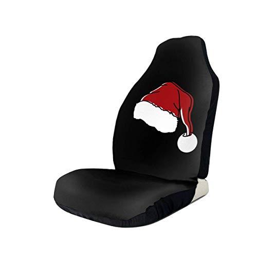 Tridge Santa Clau Hut Autositzbezug Protector Kissen Premium-Bezüge Für die meisten Autos, LKWs, SUVs oder Van
