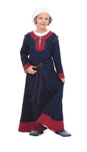 Burda Schnittmuster 9473 Historisches Kinderkost?m, Kleid mit Haube Gr. 98-158