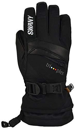 Swany X-Change Jr Glove, Color: Black, Size: M (SX-80J-BK-M)