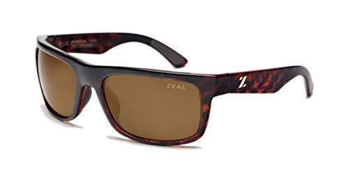 Zeal Optics Unisex Essential polarisiert, (Demi Tortoise W/Copper Polarized Lens), Einheitsgröße