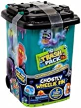 The Trash Pack Mystery Series Ghostly Wheelie Bin with 2 Excluive Trashies Gross Ghosts