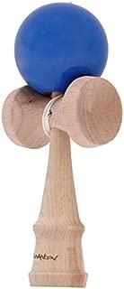 ストリートけん玉 スタイリッシュでお洒落 【 ベースモデル 見やすいカラーで 】技 成功率UP 木のおもちゃ けん玉 プレゼントにも 【 エクストリームけん玉 】クラシックモデル 色バリエーションあり (青)