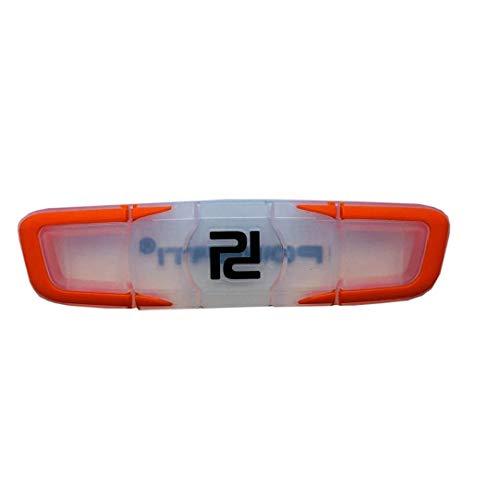 Raqueta De Tenis Antivibrador Prima De Tacto Blando De Silicona Amortiguador Agradable para El Brazo De La Raqueta Cuerdas De Orange