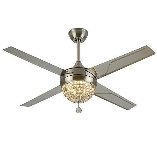 Ventilador de techo de 100 cm con iluminación, lámpara LED para interiores Flush Mount