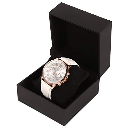 bizofft Uhr Geschenkbox, Black Watch Geschenketui, Robust für Home Watch