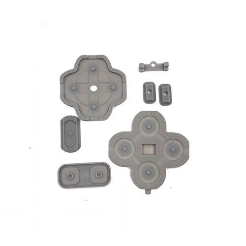 Kit Borracha Condutiva Dos Botões D-pad Nintendo New 3ds Xl