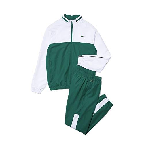 Lacoste Sport WH9563 Conjunto de chándal, Bouteille/Blanc-Noir, 4XL para Hombre