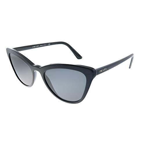 Prada Damen 0PR 01VS 1AB5S0 Sonnenbrille, Schwarz (Black), 56