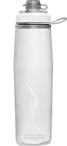 CAMELBAK Unisex– Erwachsene Trinkflasche Peak Chill, Weiß, 750 ml