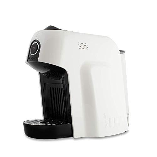 Bialetti Smart Macchina da Caffè Espresso per Capsule in Alluminio sistema Bialetti il Caffè d'Italia, 1200 W, Bianco