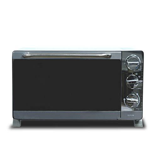KAUTO Ofen Solo Mikrowelle in Silver Tact Premium Konvektion Halogen Ofen Herd Grillen und Aufwärmen mit Aluminium Backblech