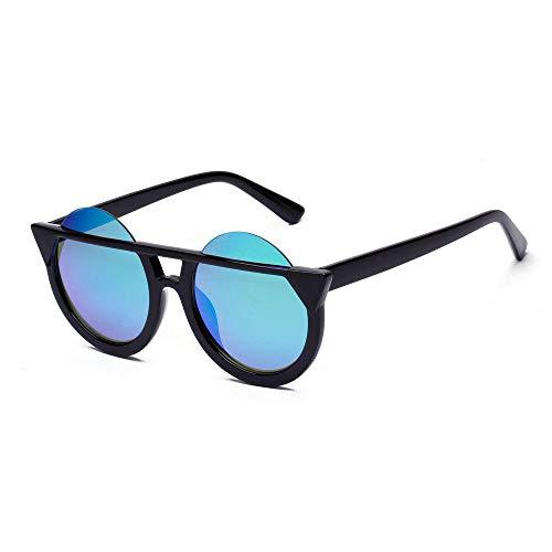 Drreny zonnebril, retro-stijl, Britse stijl, modieus, kattenogen, retro-zonnebril, in Europa en de VS, kleurrijk, rond, acrylglazen