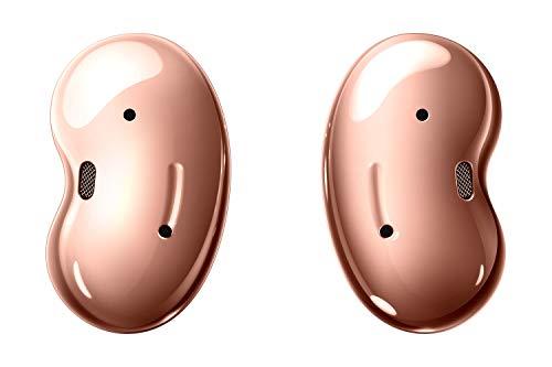 Samsung Galaxy Buds Live, kabellose Bluetooth-Kopfhörer mit Noise Cancelling (ANC), komfortable Passform, ausdauernder Akku, Wireless Kopfhörer in bronze