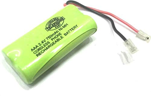 Pluto Accessories AAA 2.4v 750mah Ni-Mh Cordless Phone Rechargeable Battery Pack for Cordless Phone