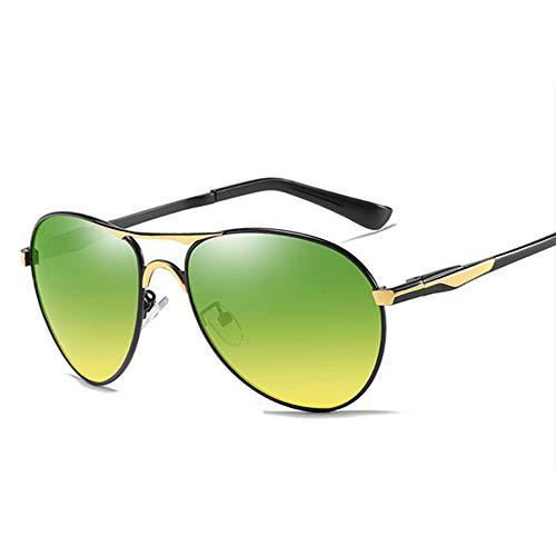Gepolariseerde nachtzicht Zonnebril, Rijdende Spiegels Drivers Bril voor Zonnestralen Blokkeren Anti-UV Rijden buitensporten vissen Goud