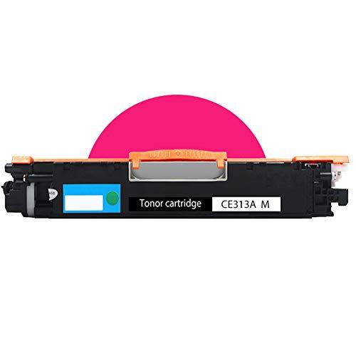CE310A CE311A CE312A CE313A Cartucho de tóner, Compatible para HP LaserJet CP1025 / CP1025NW / M175A / M175NW / M275MFP Cartucho de tóner Impresora láser multifunción en color 4 juegos Suministros