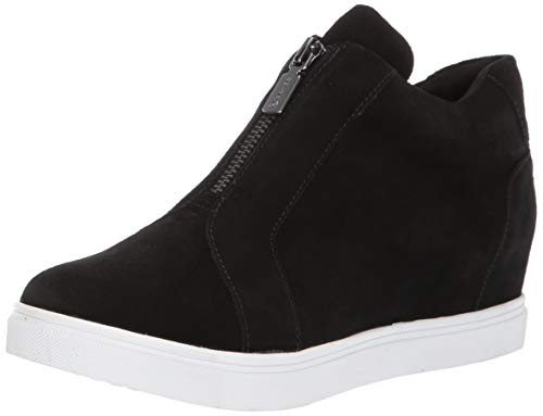 Blondo Glenda Sneaker, Black Suede, 10.0 Medium US