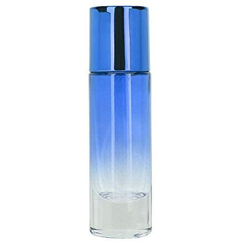 Qqmora Frascos de perfume con pulverizador, 5 unidades, para mujeres y niñas, para perfume, color azul