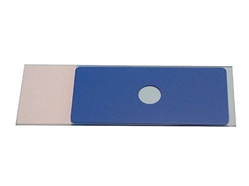 Neolab LBP-6300 Diagnostica Champ de diapositives, Nombre 1, 8 mm de diamètre – Bleu (lot de 100)