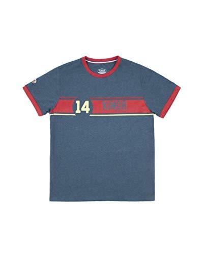Kimoa Camiseta 130R, Unisex Adulto, Azul_Navy, M