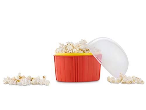 Mikrowellen Popcorn Maker | Ideal als Popcornmaschine | Mikrowellen Popcorn kalorienarm | Popcorn Mikrowelle Maker | Mikrowellen Popcorn Schüssel