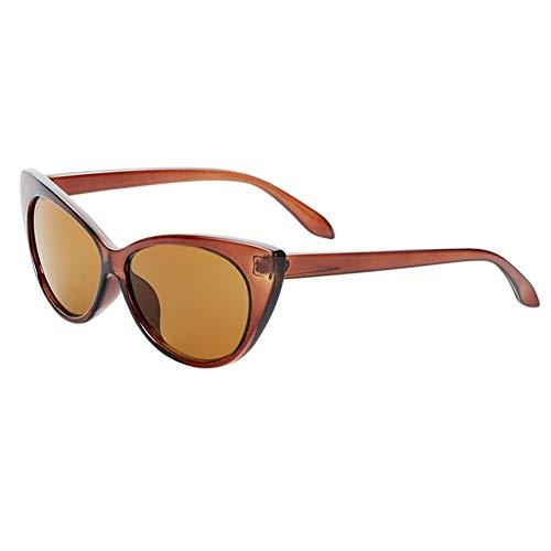 Sexy Ladies Cat Eye Sunglasses Mujeres Gradiente Gafas Retro Cateye Gafas De Sol Mujer Eyewear UV400 0103 (Lenses Color : C7)