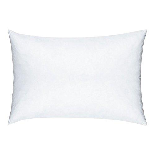 Linum Inlett weiß, Synthetisches Kissen-Inlett für Kissenbezüge (50 x 60 cm)