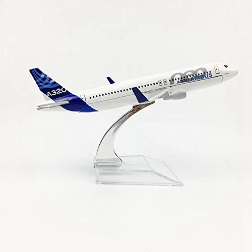 FJCY Modelo Escala 1/400 Modelo de avión de Metal Airbus A320 Modelo