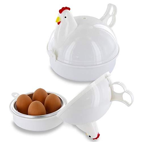Eurowebb Cuit-Oeufs au Micro-Ondes de Poule Oeuf cuiseur Outil de Cuisine