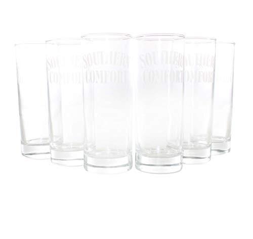 Southern Comfort® Whisky Gläser 6er Set 33 cl geeicht bei 2&4 cl ~mn 866 7j1r