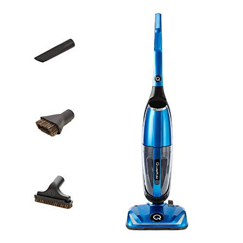 Quantum X Upright Water Filter Vacuum — The Best Bagless Household Vac Cleaner with Water & MicroSilver Filtration to Clean Wet & Dry Messes - Pet, Dog Hair & Toddler Spills on Carpet & Hardwood Floor