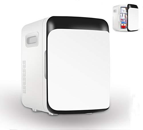 Mini koelkast, draagbare kleine koelkast, kleine koelkast auto, kan worden verwarmd en gekoeld, geschikt for diverse plaatsen