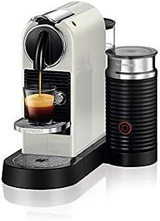 ماكينة تحضير القهوة والحليب، سيتيز اند ميلك من نيسبريسو - لون ابيض