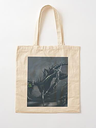 Générique Kite Hell Creature Monster Monsters Dragon Dark | Bolsas de lona con asas, de algodón duradero