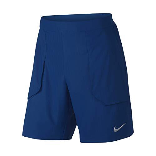 Nike Herren Flex Ace Wimbledon Shorts, Blue Jay/White, XL