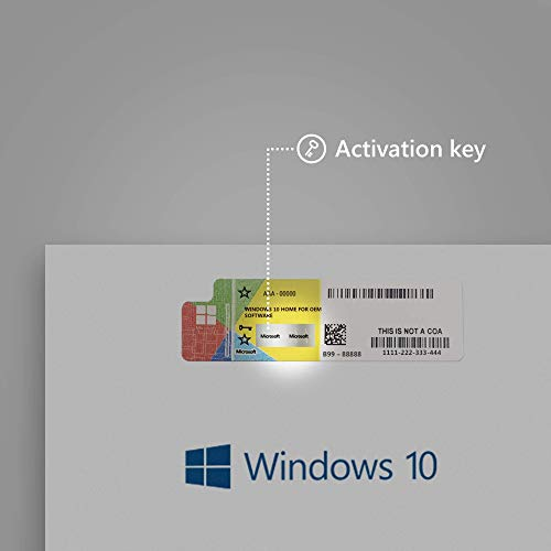 Windows 10 Home 64 Bits Español OEM DVD - Windows 10 Home Licencia