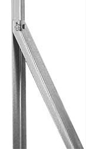 ITALFROM Rayo a L de Hierro galvanizado a cálido–Altura 120cm–Soporte para Postes de Valla 2249