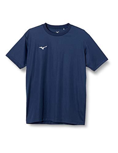 [ミズノ] 【Amazon限定モデルあり】トレーニングウェア 半袖 Tシャツ ナビドライ Uネック 吸汗速乾 インナー 肌着 メンズ 20年新モデル ドレスネイビー×ライトグレー(Amazon限定カラー) M