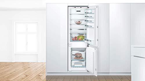 Bosch KIN86AFF0 Serie 6 Einbau-Kühlschrank mit Gefrierfach / F / 177,5 cm Nischenhöhe / 277 kWh/Jahr / 187 L Kühlteil / 67 L Gefrierteil / VitaFresh plus / NoFrost