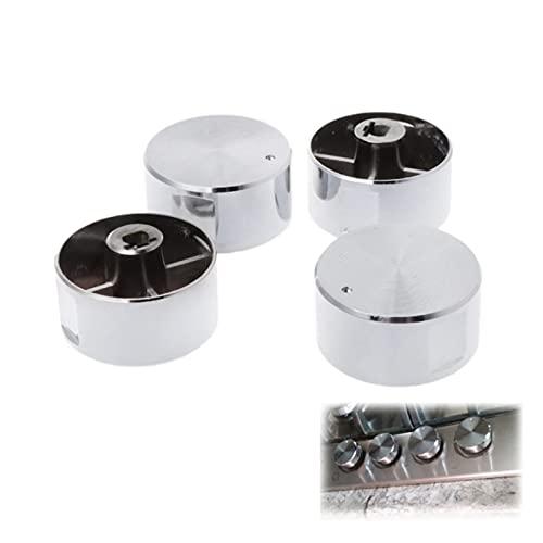 FENGFENG Sun Can 4pcs interruptores giratorios Redondos Mando de Gas Estufa de Gas Que Quemador Horno Piezas de Cocina Asas
