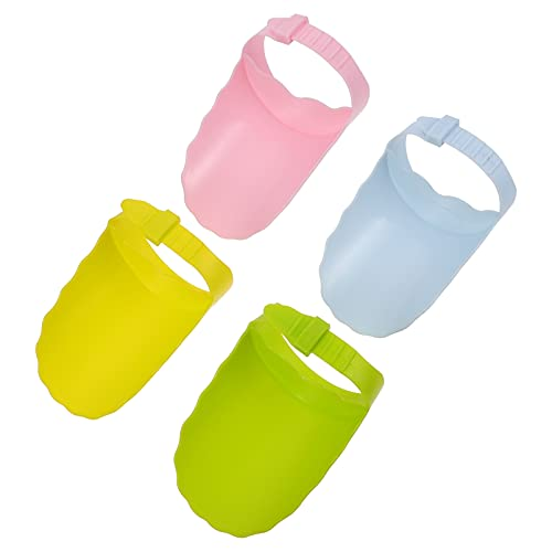 TOYANDONA 4 Piezas Extensor de Grifo Mango de Fregadero Extensor Seguro Divertido Baño Solución de Lavado de Manos para Bebés Pequeños Niños Extensores de Mango de Fregadero para Adaptarse