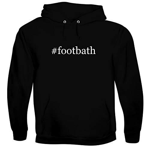 #footbath - Men's Soft & Comfortable Hoodie Sweatshirt, Black, Small