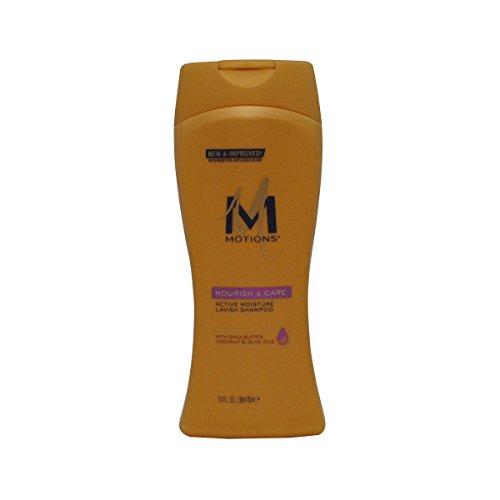 Motions Nourish and care lavish unisexe professionnel Shampooing 384 ml – champues (unisexe, professionnelle, Shampooing, cheveux normaux, 384 ml, Coco, huile d'olive, beurre de karité)