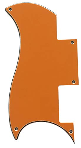 For Epiphone SG Special Style Guitar Pickguard Scratch Plate (3 Ply Orange)