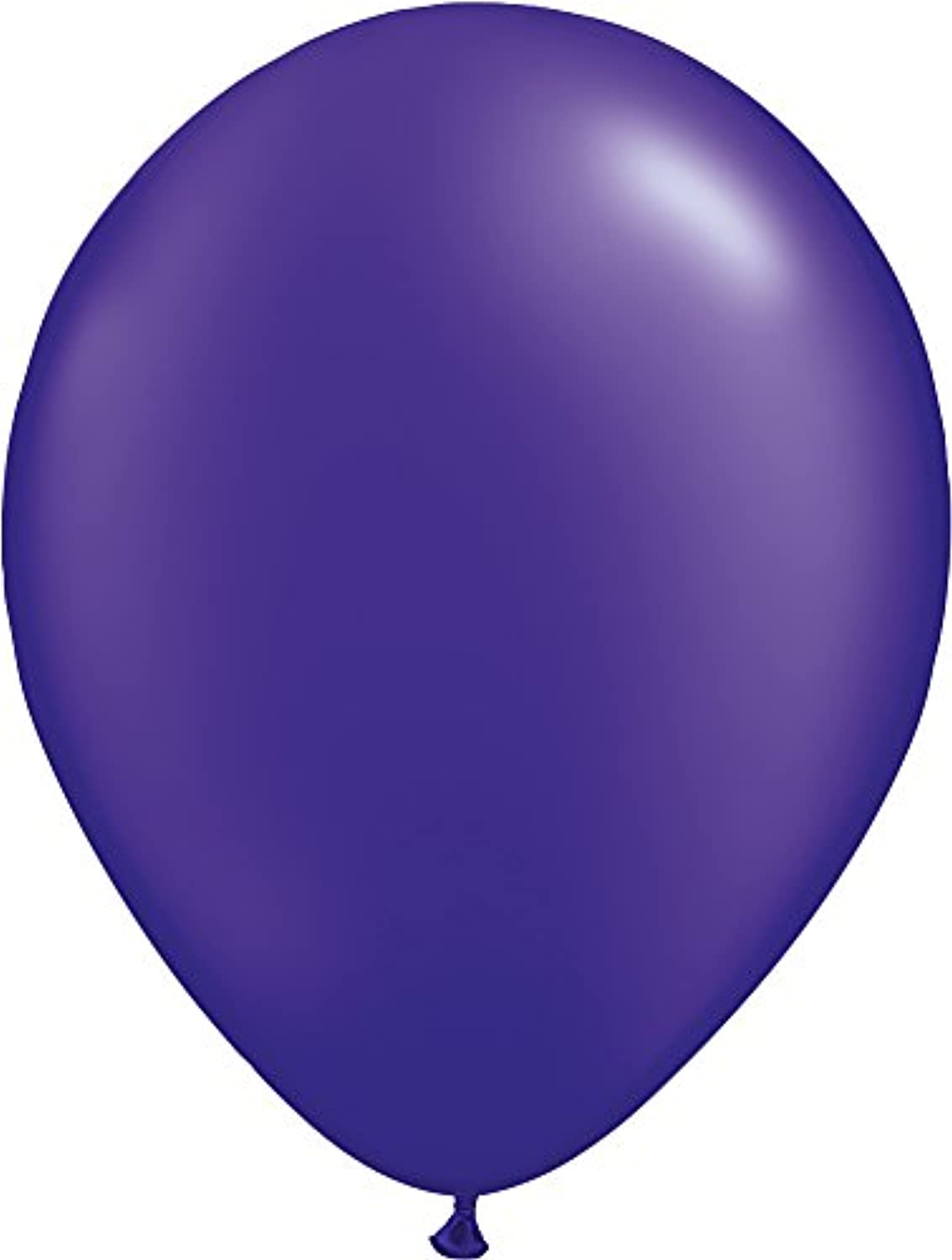 Pioneer Balloon Pearl Latex Balloons, 16 , Quartz Purple