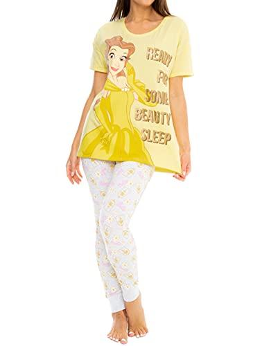 Disney Pijamas para Mujer Belle Amarillo...