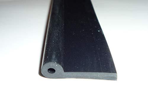 5 m Keder, Kederprofil, Gummi, 21x 6 mm, 2 mm Wandstärke