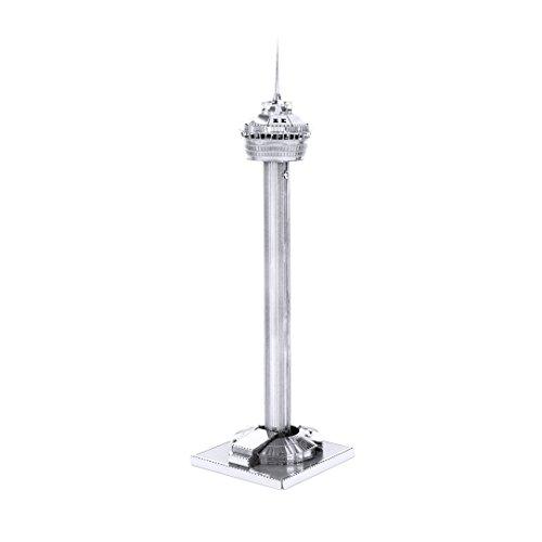 Fascinations Metal Earth MMS060 - 502563, Tower of the Americas, Konstruktionsspielzeug, 1 Metallplatine, ab 14 Jahren