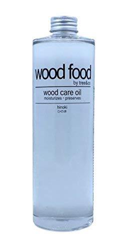 Wood Food I 木材油 I オイル (ヒノキ, 400ML)
