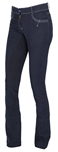 Covalliero Kerbl Reithose BasicPlus, Damen Jodhpurreithose Damenreithose, blau, 36